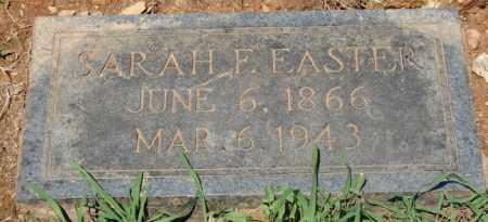 EASTER, SARAH F. - Pulaski County, Arkansas | SARAH F. EASTER - Arkansas Gravestone Photos