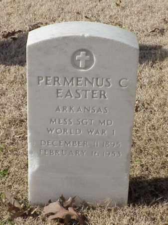 EASTER (VETERAN WWI), PERMENUS C - Pulaski County, Arkansas | PERMENUS C EASTER (VETERAN WWI) - Arkansas Gravestone Photos
