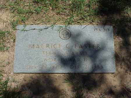 EASTER (VETERAN WWII), MAURICE C - Pulaski County, Arkansas | MAURICE C EASTER (VETERAN WWII) - Arkansas Gravestone Photos