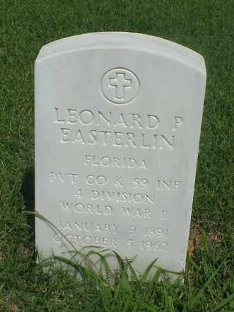 EASTERLIN (VETERAN WWI), LEONARD P - Pulaski County, Arkansas | LEONARD P EASTERLIN (VETERAN WWI) - Arkansas Gravestone Photos