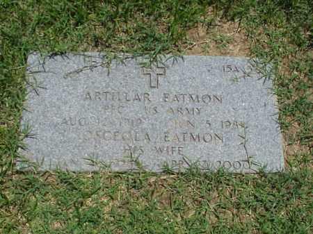 EATMON (VETERAN WWII), ARTILLAR - Pulaski County, Arkansas   ARTILLAR EATMON (VETERAN WWII) - Arkansas Gravestone Photos