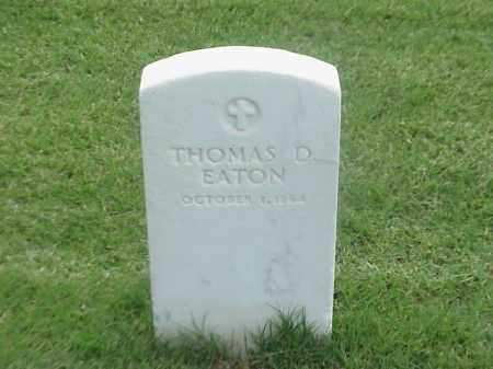 EATON, THOMAS D - Pulaski County, Arkansas | THOMAS D EATON - Arkansas Gravestone Photos