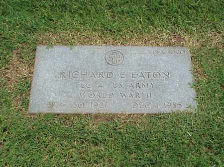 EATON (VETERAN WWII), RICHARD E - Pulaski County, Arkansas | RICHARD E EATON (VETERAN WWII) - Arkansas Gravestone Photos