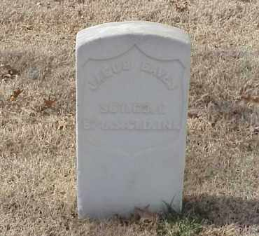 EAVES (VETERAN UNION), JACOB - Pulaski County, Arkansas | JACOB EAVES (VETERAN UNION) - Arkansas Gravestone Photos