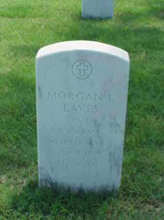 EAVES (VETERAN WWI), MORGAN L - Pulaski County, Arkansas | MORGAN L EAVES (VETERAN WWI) - Arkansas Gravestone Photos