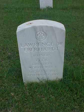 EBERHARDT (VETERAN WWI), LAWRENCE W - Pulaski County, Arkansas | LAWRENCE W EBERHARDT (VETERAN WWI) - Arkansas Gravestone Photos