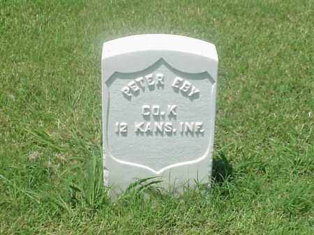 EBY (VETERAN UNION), PETER - Pulaski County, Arkansas | PETER EBY (VETERAN UNION) - Arkansas Gravestone Photos