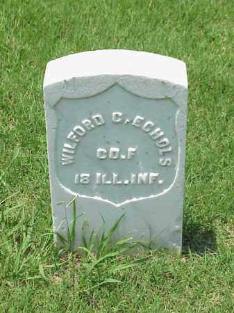 ECHOLS (VETERAN UNION), WILFORD C - Pulaski County, Arkansas | WILFORD C ECHOLS (VETERAN UNION) - Arkansas Gravestone Photos