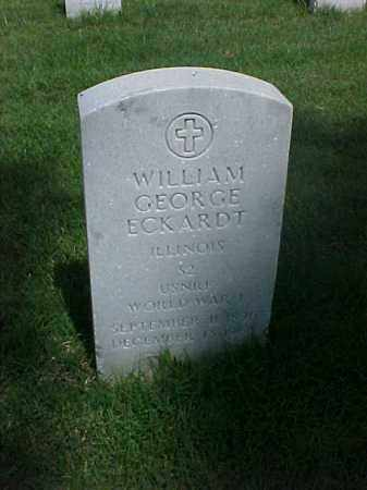 ECKARDT (VETERAN WWI), WILLIAM GEORGE - Pulaski County, Arkansas | WILLIAM GEORGE ECKARDT (VETERAN WWI) - Arkansas Gravestone Photos