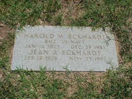 ECKHARDT, JEAN A - Pulaski County, Arkansas | JEAN A ECKHARDT - Arkansas Gravestone Photos