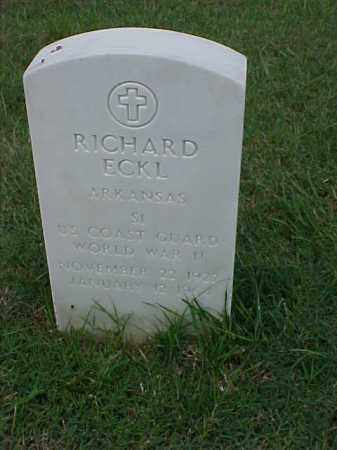 ECKL (VETERAN WWII), RICHARD - Pulaski County, Arkansas | RICHARD ECKL (VETERAN WWII) - Arkansas Gravestone Photos