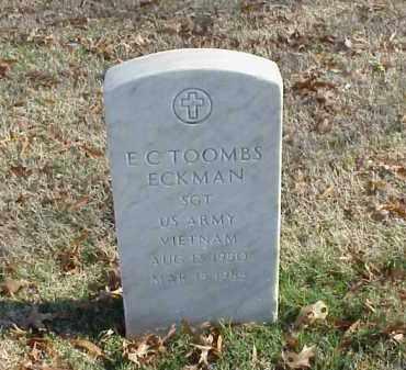 ECKMAN (VETERAN VIET), EUGENE CLARENCE  TOOMBS - Pulaski County, Arkansas | EUGENE CLARENCE  TOOMBS ECKMAN (VETERAN VIET) - Arkansas Gravestone Photos