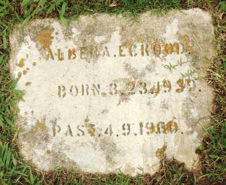 ECROOD, ALBERA - Pulaski County, Arkansas | ALBERA ECROOD - Arkansas Gravestone Photos