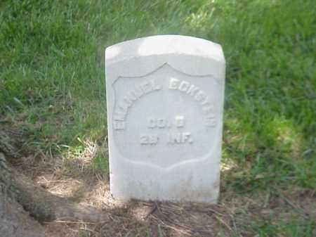 ECKSTEIN (VETERAN UNION), EMANUEL - Pulaski County, Arkansas | EMANUEL ECKSTEIN (VETERAN UNION) - Arkansas Gravestone Photos