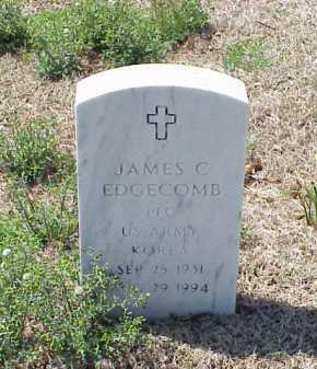 EDGECOMB (VETERAN KOR), JAMES C - Pulaski County, Arkansas | JAMES C EDGECOMB (VETERAN KOR) - Arkansas Gravestone Photos