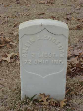 EDGERTON (VETERAN UNION), ROLLIN A - Pulaski County, Arkansas | ROLLIN A EDGERTON (VETERAN UNION) - Arkansas Gravestone Photos