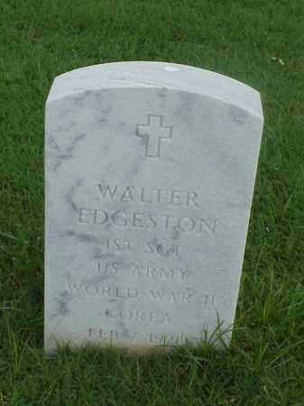 EDGESTON (VETERAN 2 WARS), WALTER - Pulaski County, Arkansas | WALTER EDGESTON (VETERAN 2 WARS) - Arkansas Gravestone Photos