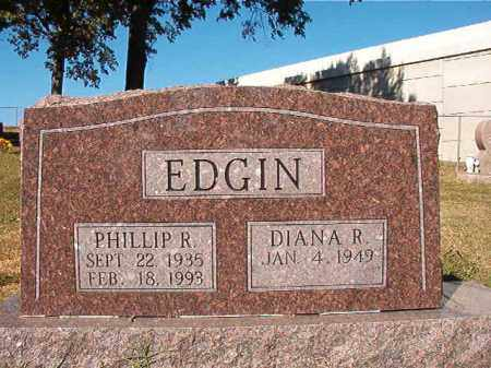 EDGIN, PHILLIP R - Pulaski County, Arkansas | PHILLIP R EDGIN - Arkansas Gravestone Photos