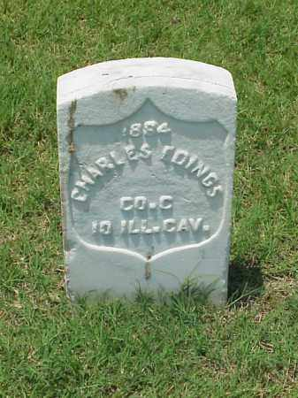 EDINGS (VETERAN UNION), CHARLES - Pulaski County, Arkansas | CHARLES EDINGS (VETERAN UNION) - Arkansas Gravestone Photos