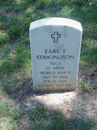 EDMONDSON (VETERAN WWII), EARL T - Pulaski County, Arkansas | EARL T EDMONDSON (VETERAN WWII) - Arkansas Gravestone Photos