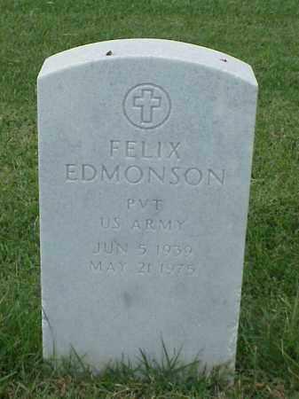 EDMONSON (VETERAN), FELIX - Pulaski County, Arkansas | FELIX EDMONSON (VETERAN) - Arkansas Gravestone Photos