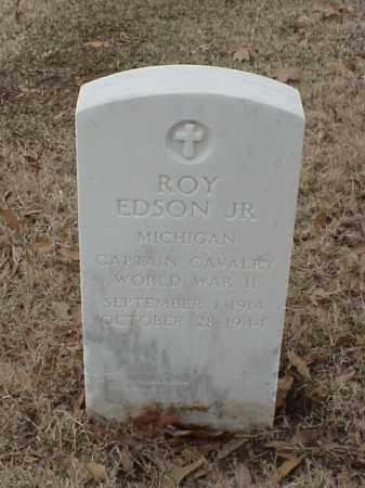 EDSON, JR (VETERAN WWII), ROY R - Pulaski County, Arkansas | ROY R EDSON, JR (VETERAN WWII) - Arkansas Gravestone Photos
