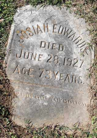 EDWARDS, JOSIAH - Pulaski County, Arkansas | JOSIAH EDWARDS - Arkansas Gravestone Photos
