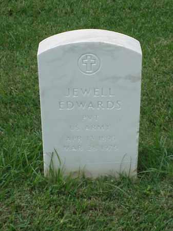 EDWARDS (VETERAN WWI), JEWELL - Pulaski County, Arkansas | JEWELL EDWARDS (VETERAN WWI) - Arkansas Gravestone Photos