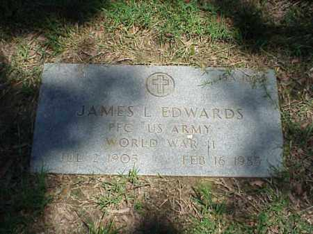 EDWARDS (VETERAN WWII), JAMES L - Pulaski County, Arkansas | JAMES L EDWARDS (VETERAN WWII) - Arkansas Gravestone Photos