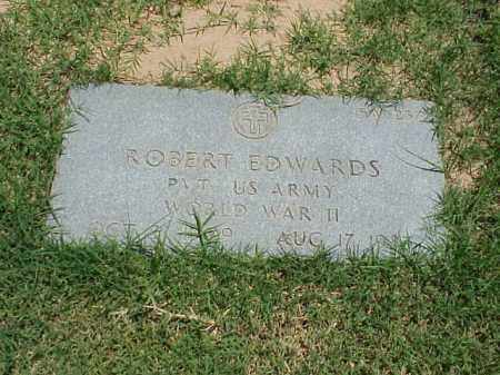 EDWARDS (VETERAN WWII), ROBERT - Pulaski County, Arkansas | ROBERT EDWARDS (VETERAN WWII) - Arkansas Gravestone Photos