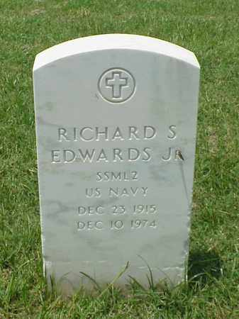 EDWARDS (VETERAN WWII), RICHARD S - Pulaski County, Arkansas | RICHARD S EDWARDS (VETERAN WWII) - Arkansas Gravestone Photos