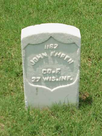 EHREN (VETERAN UNION), JOHN - Pulaski County, Arkansas | JOHN EHREN (VETERAN UNION) - Arkansas Gravestone Photos