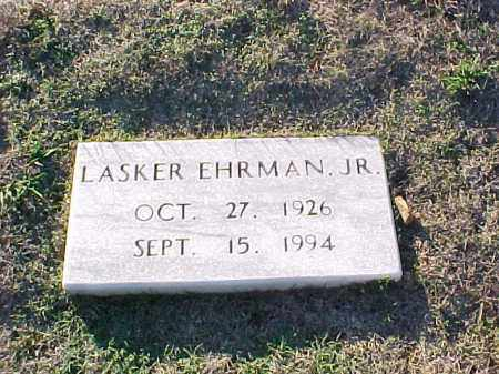 EHRMAN, JR, LASKER - Pulaski County, Arkansas | LASKER EHRMAN, JR - Arkansas Gravestone Photos