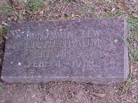 EICHENBAUM, BENJAMIN LEW - Pulaski County, Arkansas | BENJAMIN LEW EICHENBAUM - Arkansas Gravestone Photos