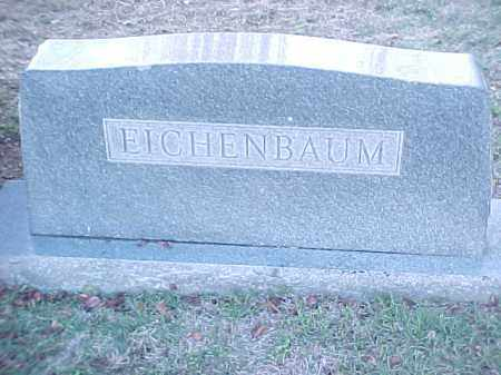 EICHENBAUM FAMILY STONE,  - Pulaski County, Arkansas |  EICHENBAUM FAMILY STONE - Arkansas Gravestone Photos