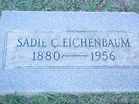 EICHENBAUM, SADIE C - Pulaski County, Arkansas | SADIE C EICHENBAUM - Arkansas Gravestone Photos