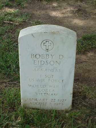 EIDSON (VETERAN 3 WARS), BOBBY D - Pulaski County, Arkansas | BOBBY D EIDSON (VETERAN 3 WARS) - Arkansas Gravestone Photos