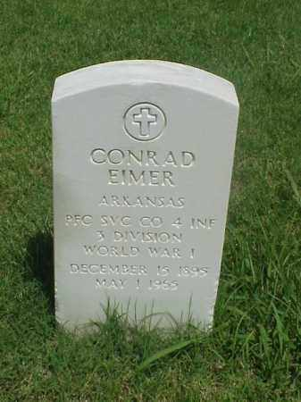 EIMER (VETERAN WWI), CONRAD - Pulaski County, Arkansas | CONRAD EIMER (VETERAN WWI) - Arkansas Gravestone Photos