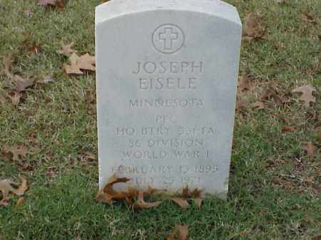 EISELE (VETERAN WWI), JOSEPH - Pulaski County, Arkansas | JOSEPH EISELE (VETERAN WWI) - Arkansas Gravestone Photos