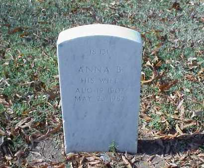 EISON, ANNA B - Pulaski County, Arkansas | ANNA B EISON - Arkansas Gravestone Photos