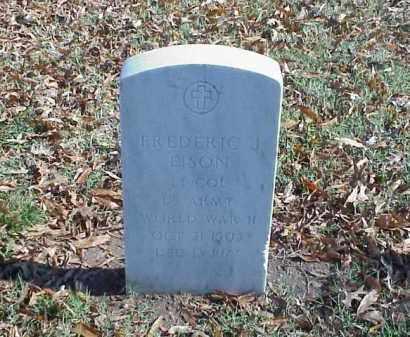 EISON (VETERAN WWII), FREDERIC J - Pulaski County, Arkansas | FREDERIC J EISON (VETERAN WWII) - Arkansas Gravestone Photos