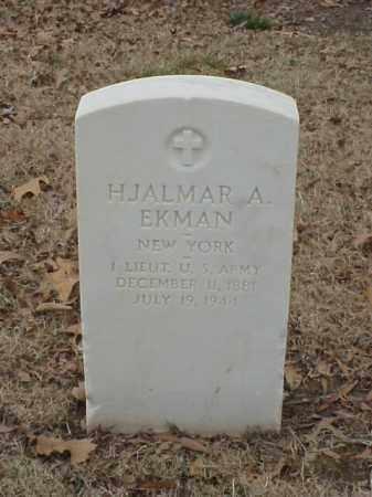 EKMAN (VETERAN WWI), HJALMAR A - Pulaski County, Arkansas | HJALMAR A EKMAN (VETERAN WWI) - Arkansas Gravestone Photos