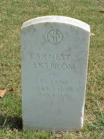 EKSTROM (VETERAN WWII), EARNEST S - Pulaski County, Arkansas | EARNEST S EKSTROM (VETERAN WWII) - Arkansas Gravestone Photos