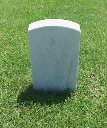 EL'AMIN (VETERAN WWI), COLUMBUS - Pulaski County, Arkansas | COLUMBUS EL'AMIN (VETERAN WWI) - Arkansas Gravestone Photos