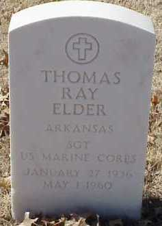 ELDER  (VETERAN), THOMAS RAY - Pulaski County, Arkansas | THOMAS RAY ELDER  (VETERAN) - Arkansas Gravestone Photos