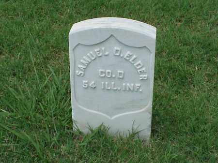 ELDER (VETERAN UNION), SAMUEL D - Pulaski County, Arkansas | SAMUEL D ELDER (VETERAN UNION) - Arkansas Gravestone Photos