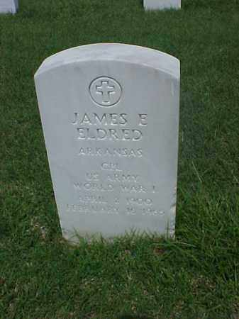 ELDRED (VETERAN WWI), JAMES E - Pulaski County, Arkansas | JAMES E ELDRED (VETERAN WWI) - Arkansas Gravestone Photos