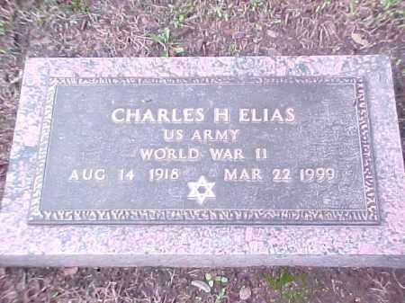 ELIAS (VETERAN WWII), CHARLES H - Pulaski County, Arkansas | CHARLES H ELIAS (VETERAN WWII) - Arkansas Gravestone Photos