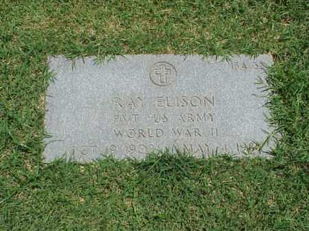 ELISON (VETERAN WWII), RAY - Pulaski County, Arkansas | RAY ELISON (VETERAN WWII) - Arkansas Gravestone Photos