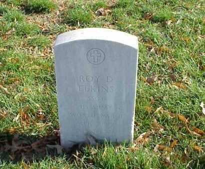 ELKINS (VETERAN WWII), ROY D - Pulaski County, Arkansas | ROY D ELKINS (VETERAN WWII) - Arkansas Gravestone Photos